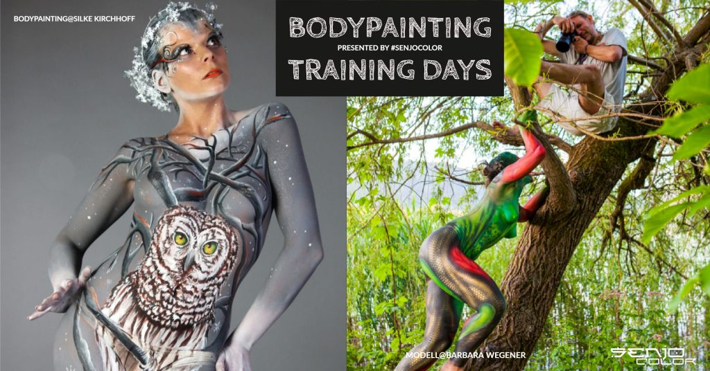 bodypainting training-days berlin