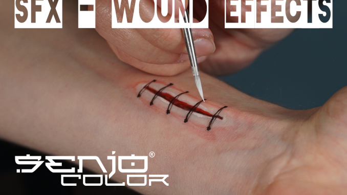 painted wound effect