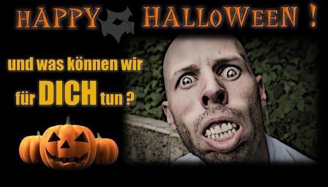 Es ist dein Halloween!