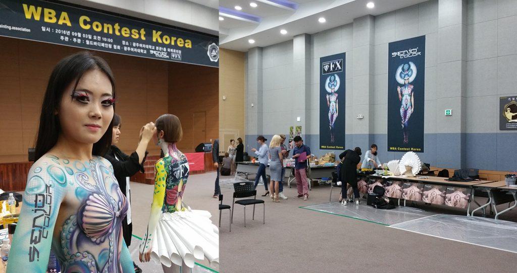 korea wba bodypainting contest