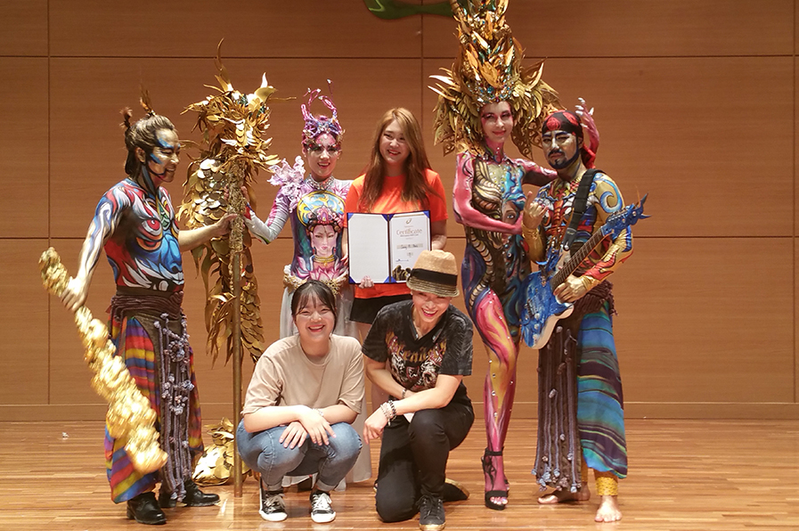 korea wba bodypainting contest sieger