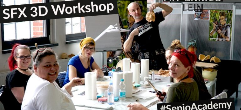 3D Maskenbau SFX Workshop 2018