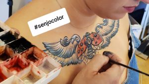 Senjo Color Tattoo