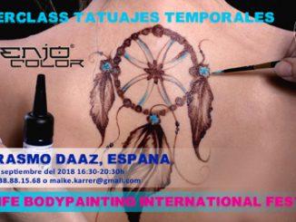 Tattoo Masterclass Senjo Teneriffa Erasmo Daaz