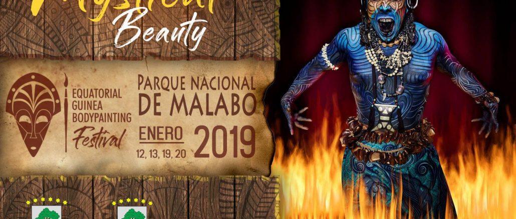 Equatorial Guinea Bodypainting Festival Banner