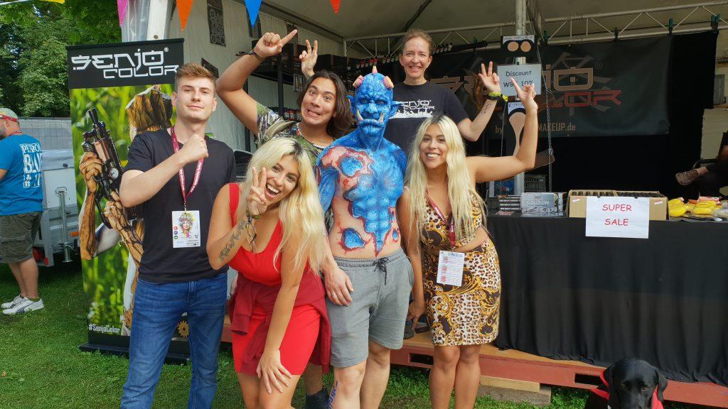 Besuch bei Senjo Color in Klagenfurt  2018