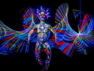 body light painting by Jorg Schmidt Hamburg