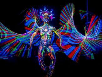 body light painting by Jorg Schmidt Hamburg